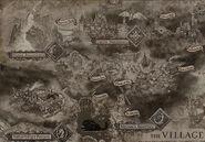 Resident Evil Village - Village map 2