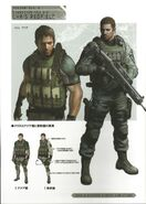 RE6 Concept Art - Chris