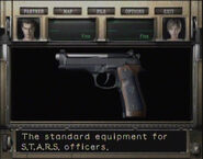 RE0 STARS handgun