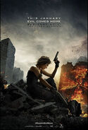 Resident Evil The Final Chapter poster 5