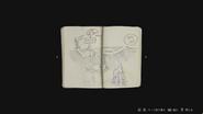 RE2Remake Officer's Notebook JPN 01