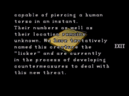 RE2 Operation report 1 10