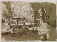 Resident Evil 5 Ndipaya Kingdom concept art 7