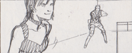 Leon vs. Chris storyboard 18
