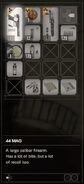 RESIDENT EVIL 7 biohazard 44 MAG inventory