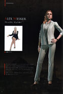 BIOHAZARD REVELATIONS 2 Concept Guide - Alex Wesker