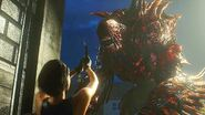 Jill vs Nemesis Second Mutation RE3make