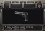 Resident Evil Zero Magnum examine