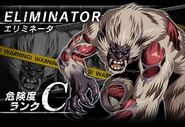 BIOHAZARD Clan Master - Battle art - Eliminator