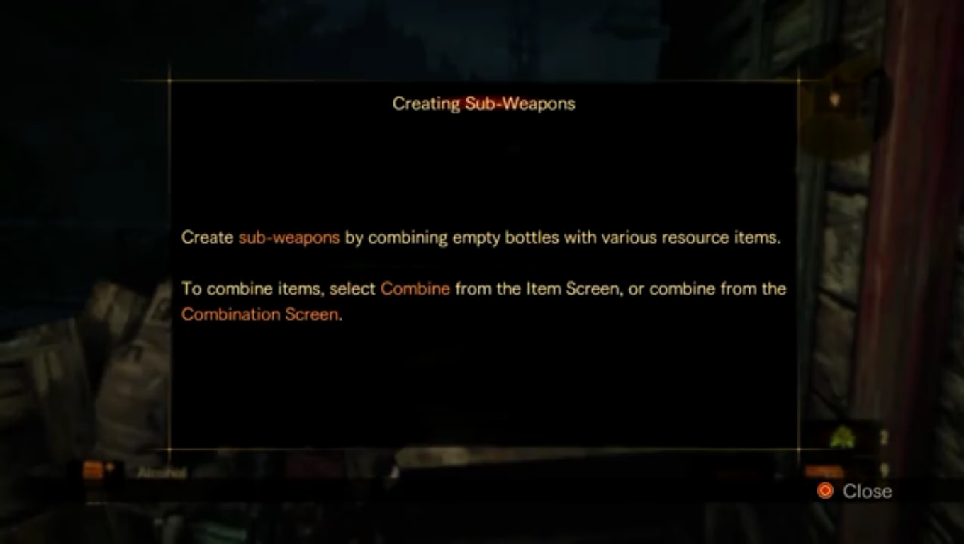 Creating Sub-Weapons