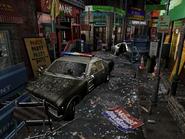 Resident Evil 3 background - Uptown - boulevard g1 - R10306