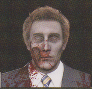 Degeneration Zombie face model 46