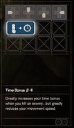 RESIDENT EVIL 7 biohazard Skill Time Bonus B-II
