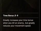 Time Bonus β-II