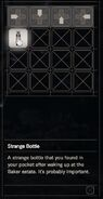 RESIDENT EVIL 7 biohazard Strange Bottle inventory
