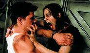 Resident Evil film - Undead Rain tries to bite Matt