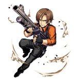 Clan Master Leon Orange Shirt