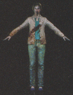 Degeneration Zombie body model 49