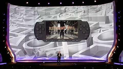 """Resident_Evil_Portable_Announced_For_PSP_E3_2009_""""Vote_For_Main_Character"""""""