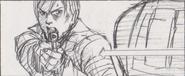 Leon vs. Chris storyboard 16