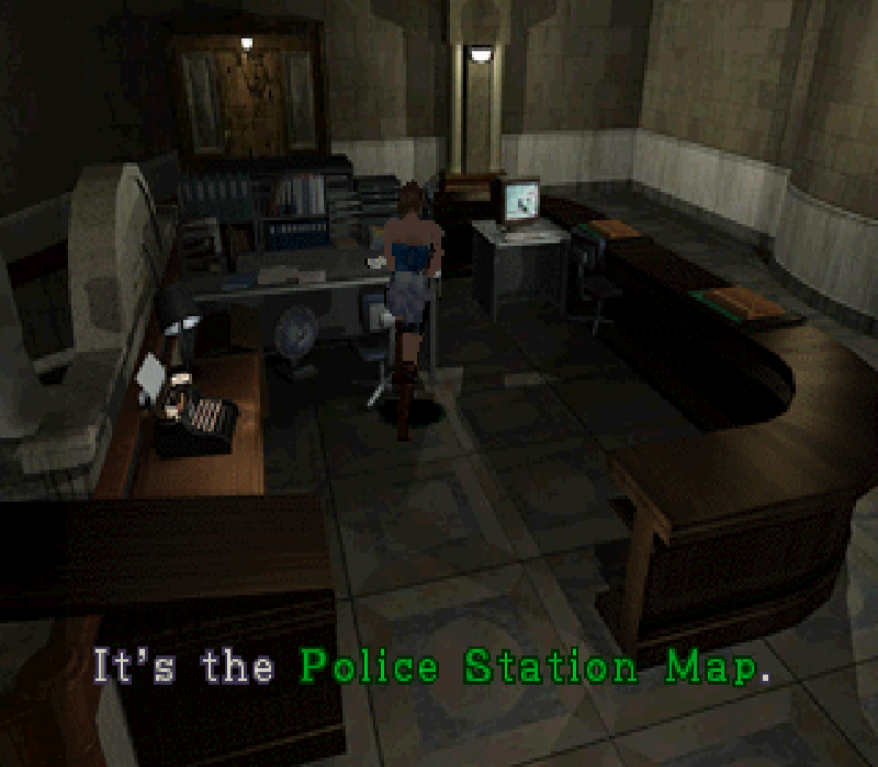 Police Station Map (RE3)