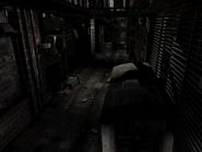 Resident Evil 3 background - Uptown - boulevard c2 - R11E02