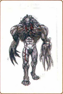 Resident Evil Archives page 216 - Tyrant concept art 2