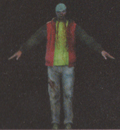Degeneration Zombie body model 1