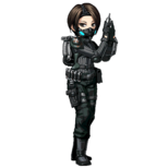BIOHAZARD Clan Master - Character animation - Four Eyes 1