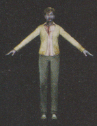 Degeneration Zombie body model 15