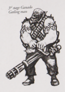 Gatling Man concept art