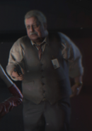 RE2 remake Brian Irons