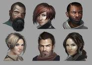 Reorc Spec Ops Echo Six faces