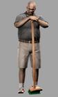 Resident evil outbreak mark wilkins artwork concept art ingame model alternate costume