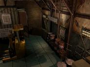 Resident Evil 3 background - Uptown - warehouse b2 - R10115