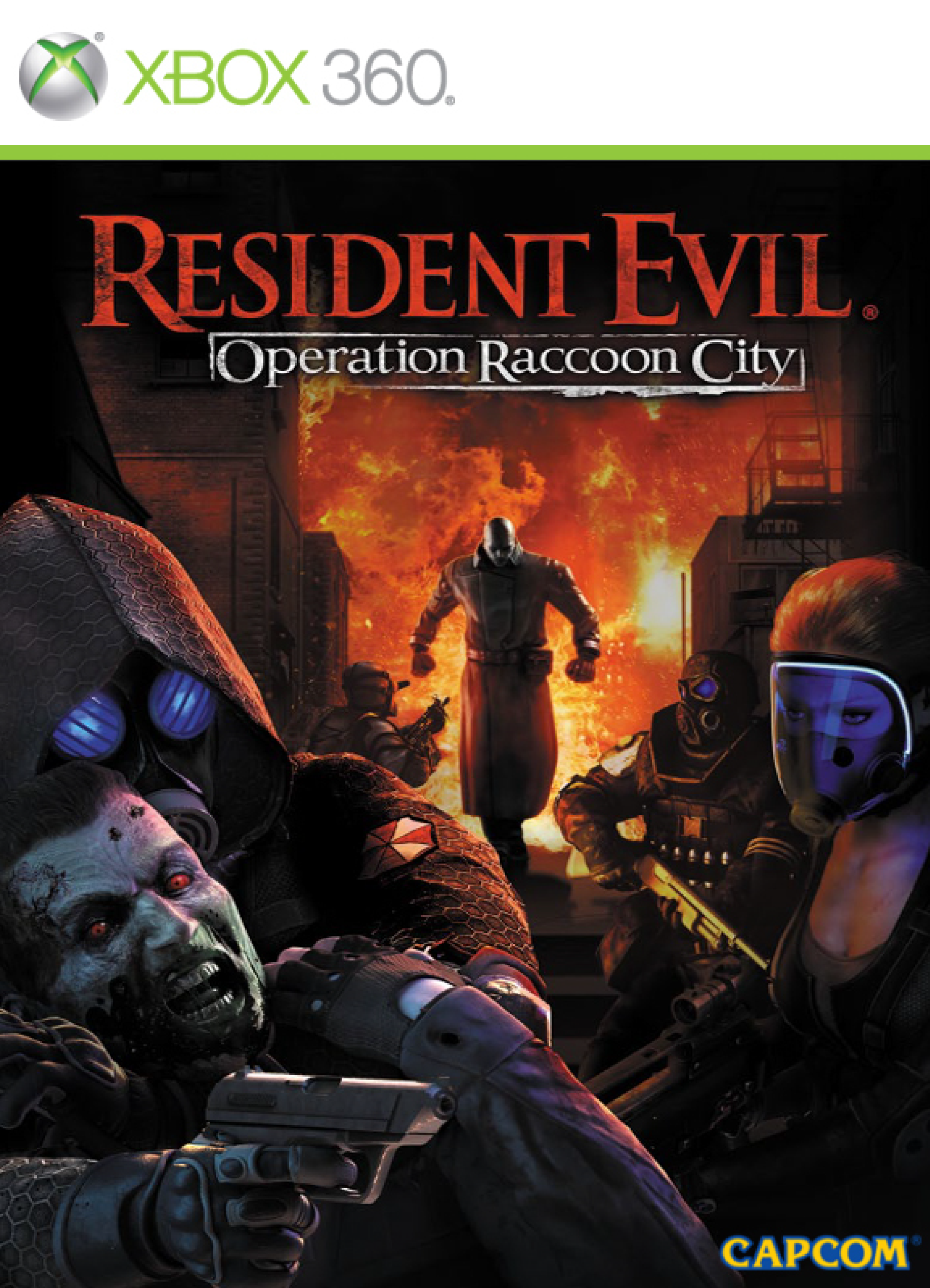 Resident Evil: Operation Raccoon City manual