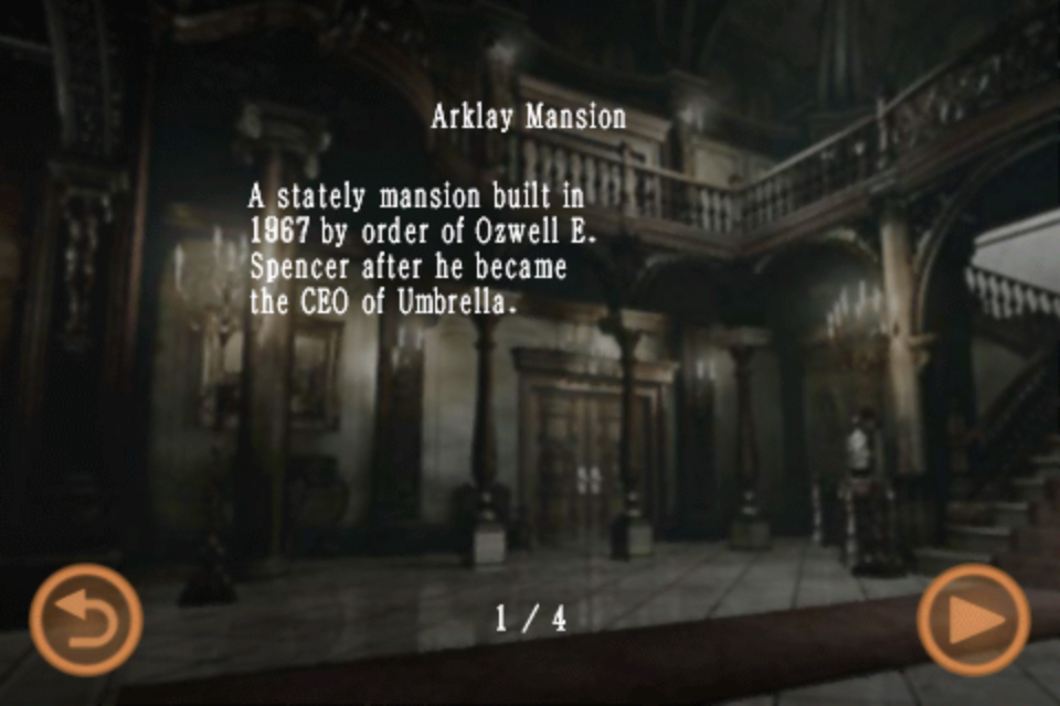 Arklay Mansion (Mobile Edition file)