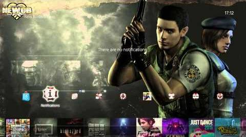 PS4 - Biohazard HD Remaster Theme