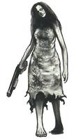 Parasite woman normal