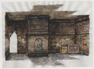 CODE Veronica concept art - Catacombs 4