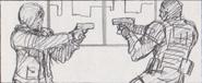 Leon vs. Chris storyboard 15