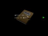 Re264 EX Jill's Note