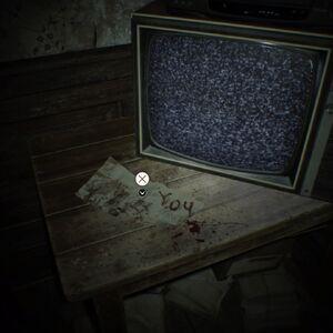 Resident Evil 7 Teaser Beginning Hour note 2 location.jpg