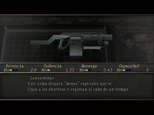 Lanzaminas (RE4)
