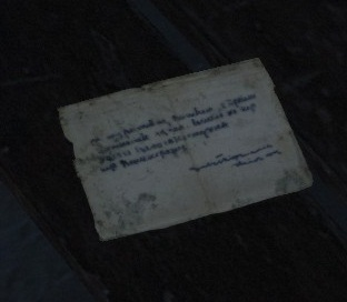 Female Villager's Letter