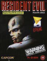 Resident Evil PowerVR PC EUR