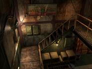 Resident Evil 3 background - Uptown - warehouse j - R10103