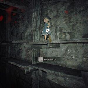 Resident Evil 7 Teaser Beginning Hour Attic Window Key location.jpg