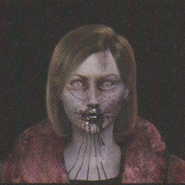 Degeneration Zombie face model 22