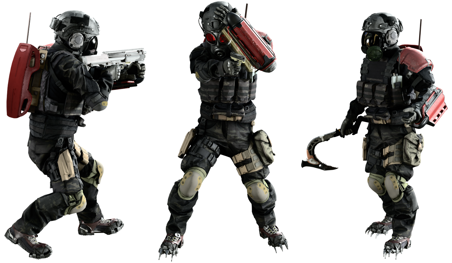 Mercenarios (Umbrella Corps)
